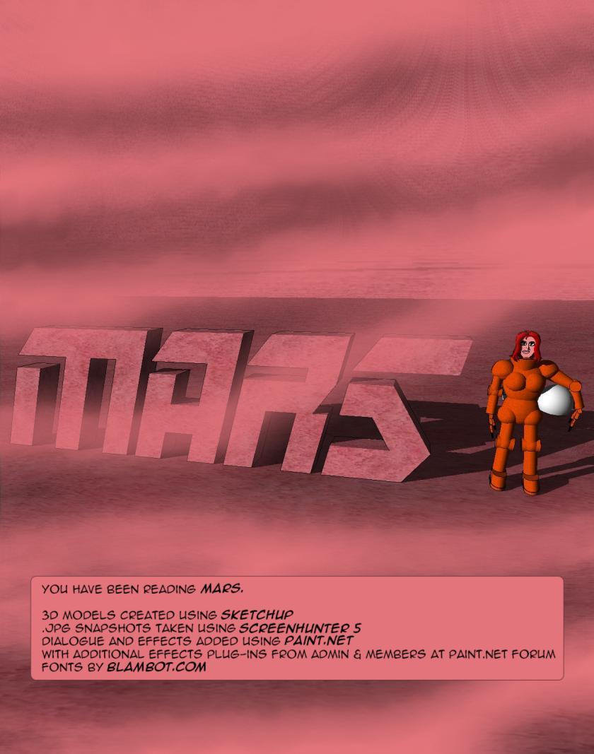 MARS back cover